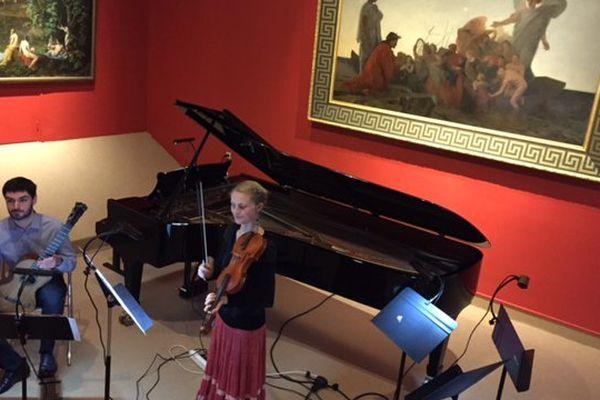 Les élèves du conservatoire de Poitiers ont donné un concert au Musée Sainte-Croix, mardi 3 février.