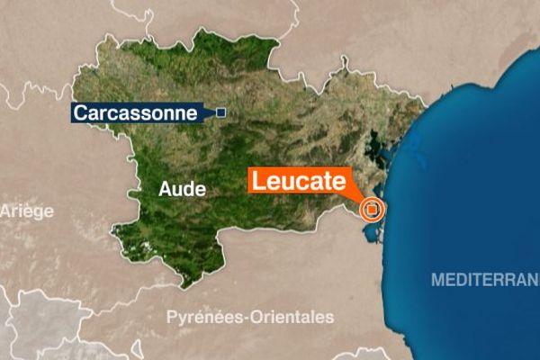 Leucate, Aude.