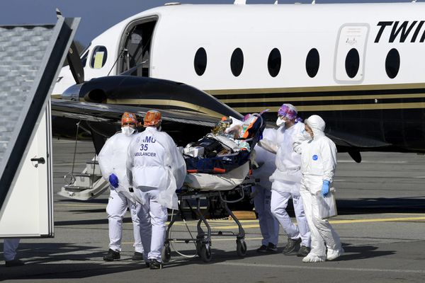 Samedi 13 mars, deux patients Covid-19 avaient été transférés depuis Beauvois vers l'hôpital de Saint-Malo