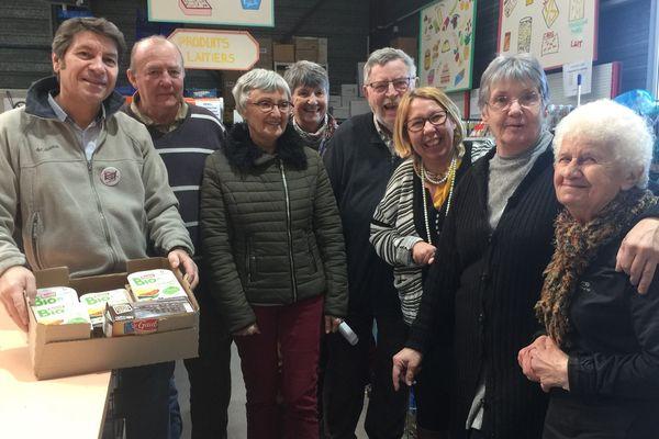 Des bénévoles du Restaurant du Cœur de Blois