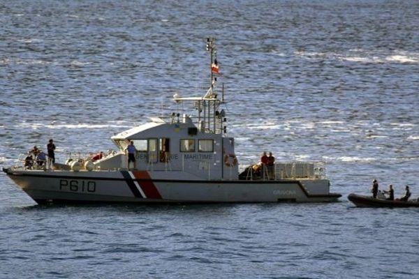 ILLUSTRATION - Une vedette de la gendarmerie maritime