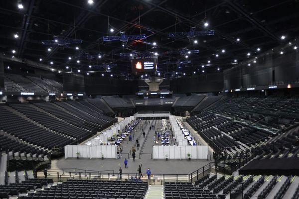 Le groupe Indochine se produit ce 29 mai à l'AccorHotels Arena à Paris dans le cadre du premier concert-test en France.
