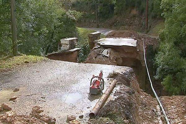 Aude - les dégâts après les inondations - octobre 2018.