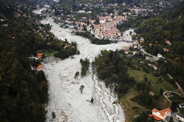 Un octobre 2020, un épisode méditerranéen avait été observé conjointement avec la tempête Alex dans les Alpes-Maritimes.