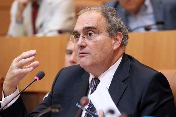 Le président de la Collectivité territoriale de Corse Paul Giacobbi (PRG)