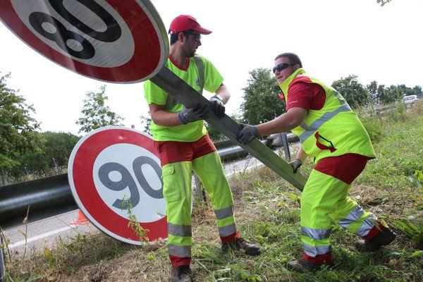 La Haute-Marne repassera certaines routes du département à 90 km/h au lieu de 80, à partir du 9 janvier 2020.