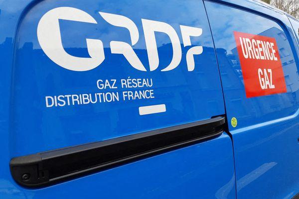 Photo d'illustration d'une voiture de GRDF.