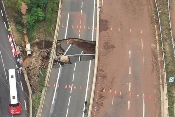 L'A75 est fermée dans le sens Nord-Sud à hauteur du Bosc