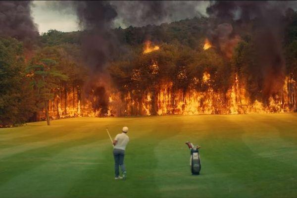 Ce clip a été réalisé avec Romain Langasque, golfeur professionnel.