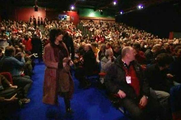 Le public rempli chaque année l'espace Lac de Gérardmer, l'une des salles de projection du Festival.