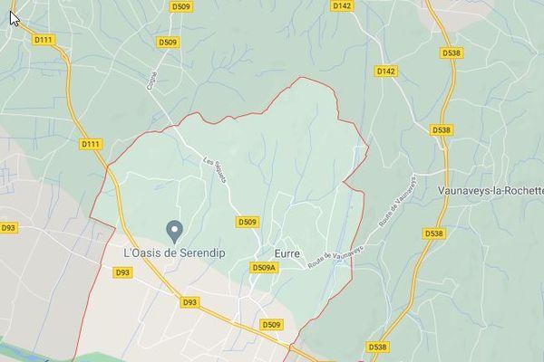 Vers 4 heures du matin ce vendredi 25 juin, des câbles d'alimentation électrique de la SNCF ont été volontairement incendiés à Eurre, dans la Drôme.