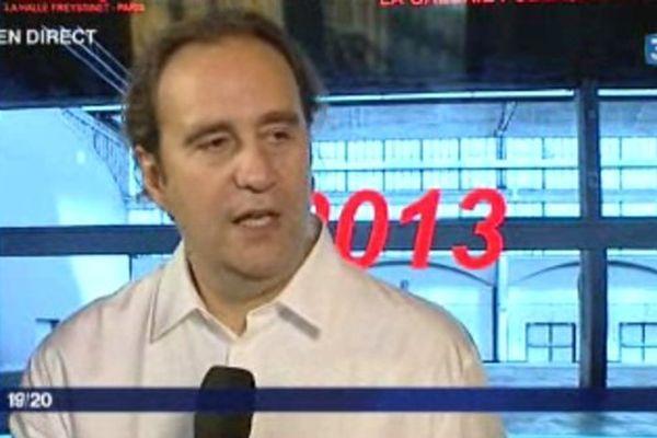 Le fondateur de Free était l'invité de France 3 Paris à l'occasion du lancement du projet de méga incubateur numérique dans la halle Freyssinet.