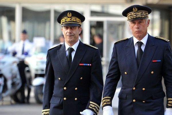 Hugues Parant (à droite sur l'image)