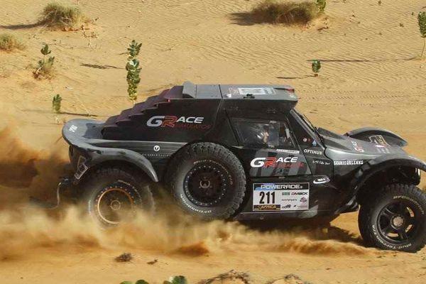 Guillaume Gomez, pilote loirétain,entre dans le top 5 de l'Africa Race