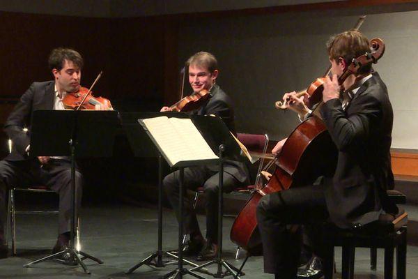 Le quatuor Modigliani en concert à la Folle Journée de Nantes 2020.