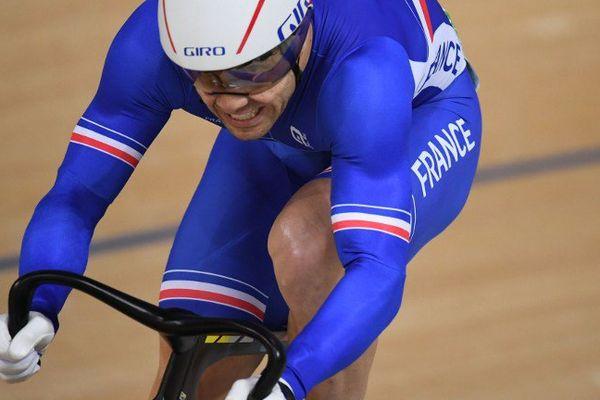 Troisième de sa série, François Pervis, double champion du monde (2014 et 2015) de la spécialité, avait dû passer par le repêchage pour atteindre la finale de Keirin.