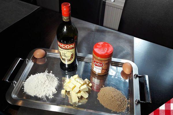 Les ingrédients des gaufres flamandes
