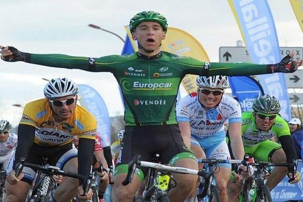 Etoile de Bessèges : 3e étape : victoire du Français Bryan Coquard - 7 février 2014.