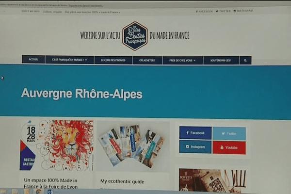 """Le webzine Les P'tites Boites Françaises ...toute l'actu du """"Made in France"""""""