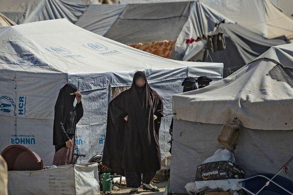 Une photo prise le 17 octobre dans la camp d'Al-Hol en Syrie