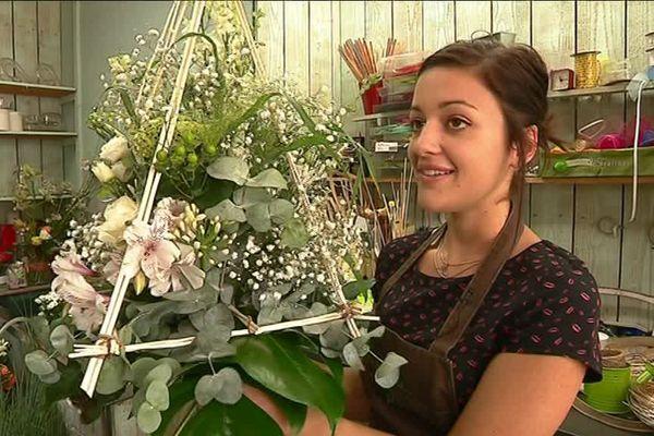 Laure Royère, creusoise de 19 ans, meilleure apprentie fleuriste de France !