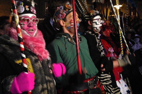 Les premiers chahuts de la saisons carnavalesque 2016 se sont tenus samedi à Fort Mardyck