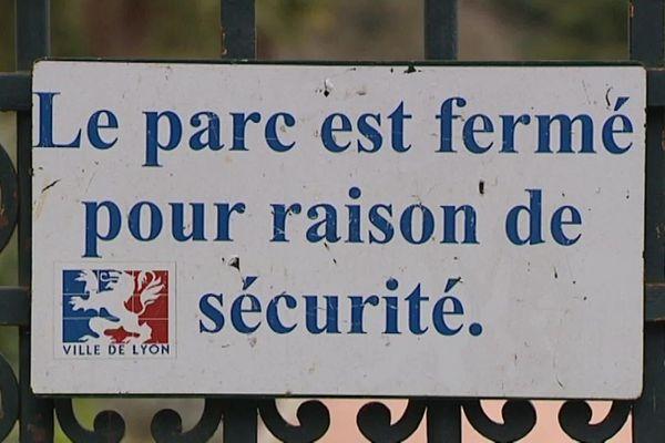 La Porte des Enfants du Rhône doit rester close au Parc de la Tête d'Or