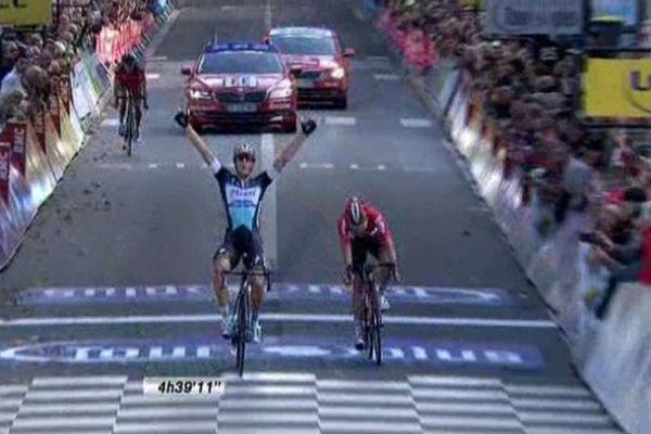 Paris-Tours 2015, victoire de l'Italien Trentin