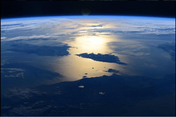12/02/15 - La Corse vue depuis la station spatiale ISS