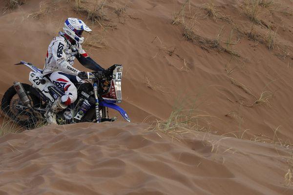 Xavier de Soultrait lors de la 11ème étape du Dakar 2017