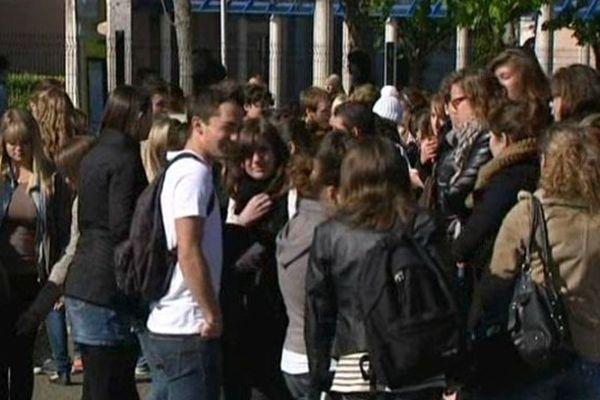 A l'horizon 2025,la région accueillerait 4 500 lycéens supplémentaires. (Image d'archive)
