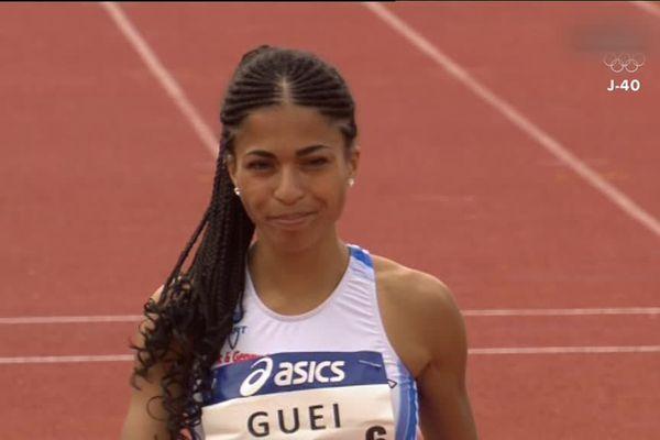 Floria Gueï est une nouvelle fois championne de France du 400 mètres.
