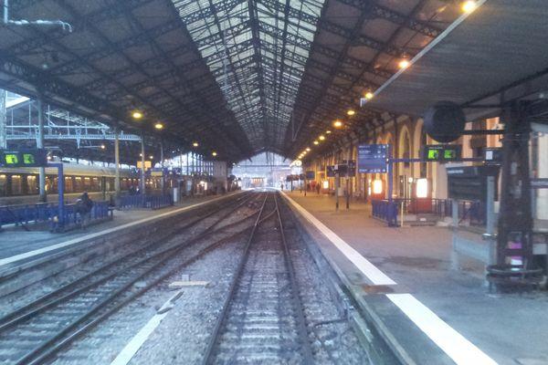 La gare Matabiau à Toulouse