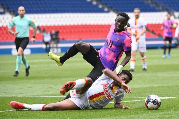 Les Lensois ont été battus par le PSG, ce samedi 1er mai.