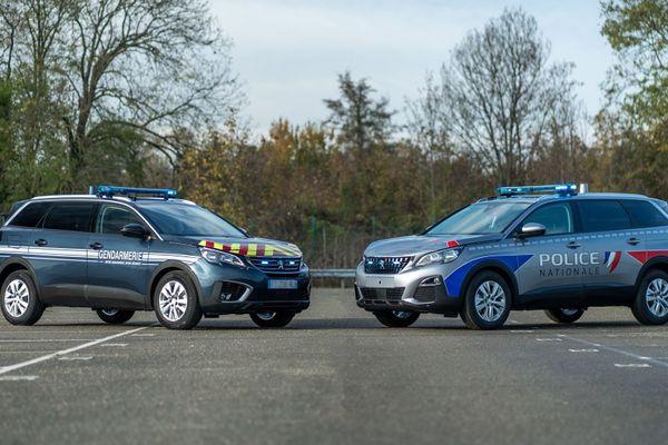 Le ministère de l'intérieur a commandé 1263 Peugeot 5008 aux couleurs de la police et de la gendarmerie