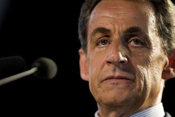 Nicolas Sarkozy lors d'un meeting aux Pavillons-sous-Bois, près de Paris, le 11 mai 2015.