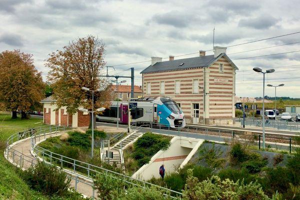 La SNCF va changer les rails des gares du Pallet et de Monnières en Loire-Atlantique entre le 1er février et le 12 mars