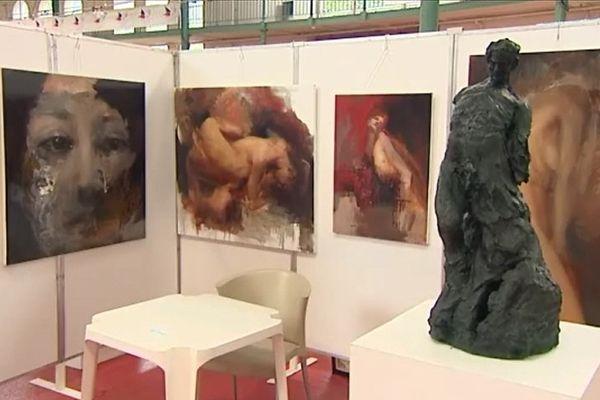 L'exposition Solid'art, installée au Palais Rameau de Lille