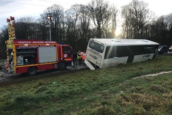 Les secours sont arrivés rapidement sur les lieux de l'accident