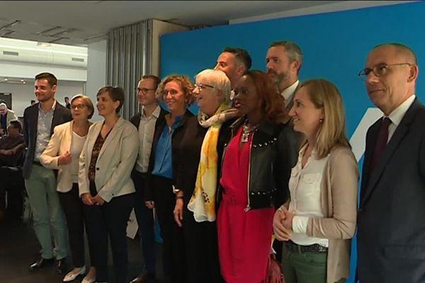 """""""Photo de classe"""" des députés LREM de l'Eure et Seine-Maritime autour de Muriel Penicaud"""
