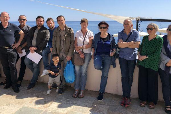 21/04/2018 - Bastia – Core in Fronte s'opposer à l'extension du lycée maritime dans la citadelle
