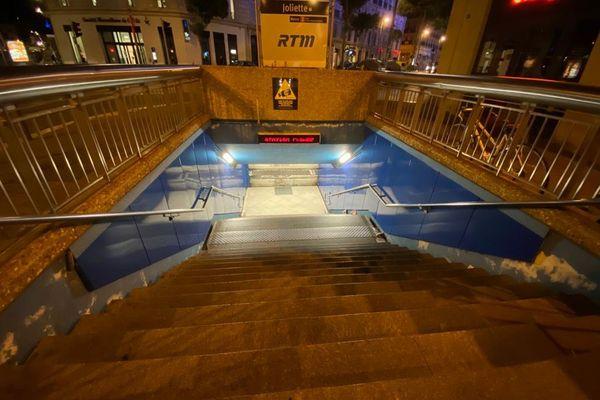 Le drame a eu le 22 septembre dans la station de métro Joliette à Marseille.