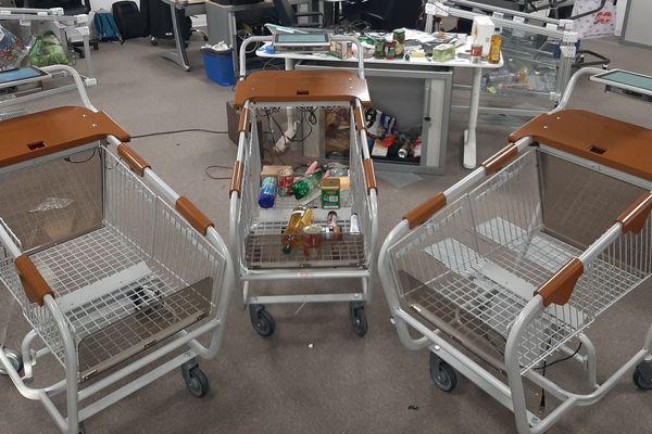 Les premiers prototypes de chariot connecté Knap