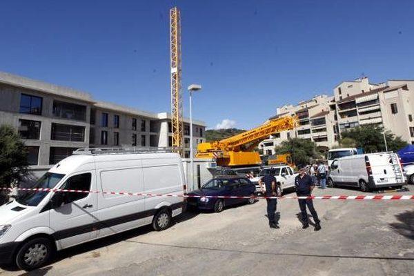 18/09/13 - Patrice Madelaine, promoteur immobilier, a été tué à Ajaccio devant son immeuble en construction