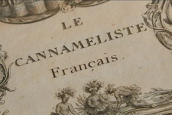 Le cannaméliste signé joseph Gilliers, un ouvrage très recherché pour ceux qui s'intéressent à l'art de la table au temps de Stanislas
