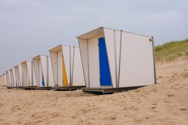 La plage de Cadzand aux Pays-Bas. C'est là que la famille Feys-Vandromme a passé ses vacances