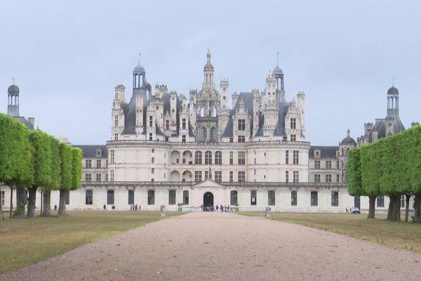 Le château de Chambord accueille à nouveau des visiteurs.