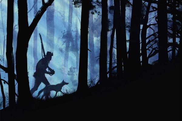 Dessin de la couverture de Wilderness d'après le roman de Lance Weller