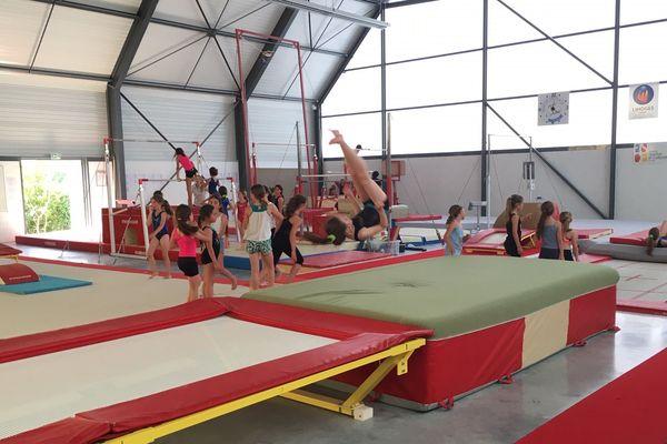 Les Elfes de 10 à 14 ans à l'entrainement avant les championnats de France féminins du 5 au 7 juillet à Limoges