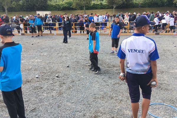 championnat de France de Pétanque Jeunes à Caen, samedi 25 aout 2018